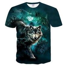 Новинка, 3d Футболка с принтом волка, Мужская футболка, wo, Мужская футболка, новинка, животные, топы, футболки, мужские, короткий рукав, летние, o-образный вырез, европейский размер XXS-4XL