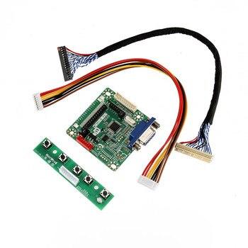"Nuevo MT6820-B Universal LVDS LCD Monitor controlador placa 5V 10 ""-42"" Set DOM668"
