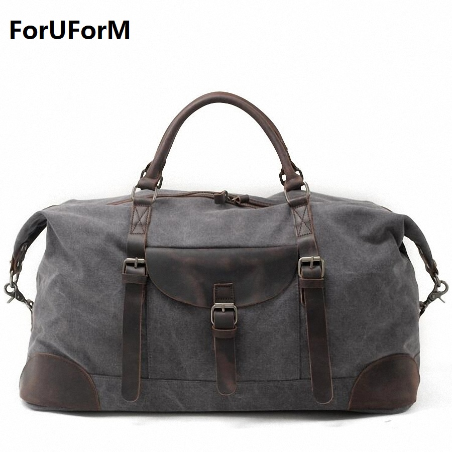 2017 New Vintage Men Canvas handbag High Quality Travel Bags Large Capacity Women Luggage Travel Duffle Bags Folding Bag LI-1862 vintage backpack large capacity men male luggage bag school travel duffle bags large high quality escolares new fashion