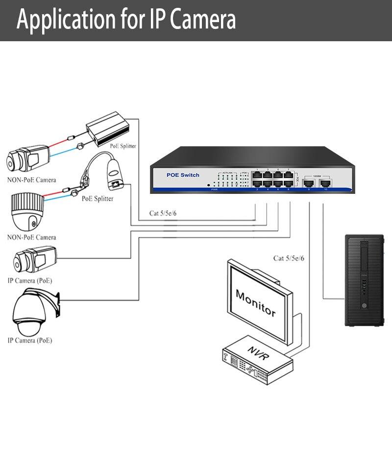 Hyy8-interruptor inteligente de parede para computador, 8