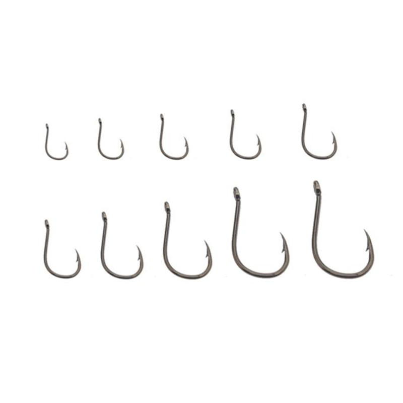 500pcs Small Size Black Freshwater Fishhook Fishing Hooks Set  HOT  NEW 2017,JULY,4