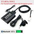 Yatour BTA Car Bluetooth Adapter Kit for Lexus Toyota 6+6pin radioss GX470 LS460 LX570 RX300 RX300 RX330 RX350 RX400H SC430 bt
