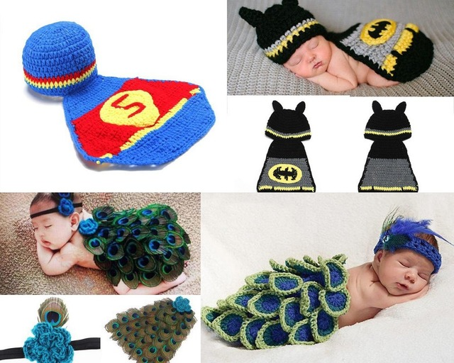 Soft Adorable ropa bebé recién nacido niño de punto de ganchillo ...