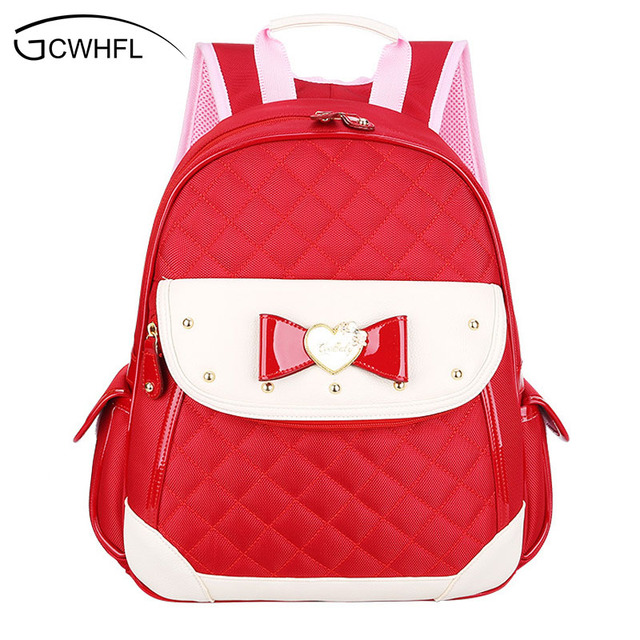 New 2017 Cute Little Girl School Bag Princess Small Backpacks For ...