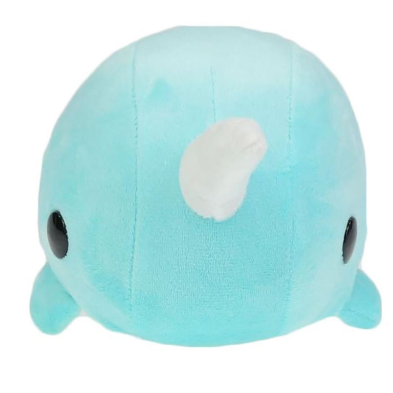 Narwhal 26CM Kawaii Plush Toys Blue Stuffed Animal Toy NEW YEAR GIFT Free Shipping