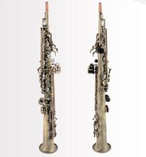 2017 BSS-656 Soprano one Soprano saxophone straight soprano sax wind instrument professional shipping