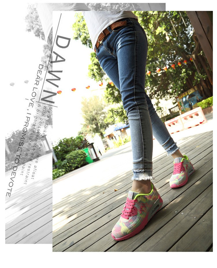Fashion women casual shoes zapatos mujer flat canvas shoes women lace-up platform shoes fashion chaussure femme 2016 new (4)