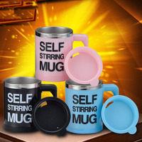 Self Stirring Mug Lazy Auto Mixing Tea Cup Coffer Drink Blender Automatic Electric Self Stirring Mugs