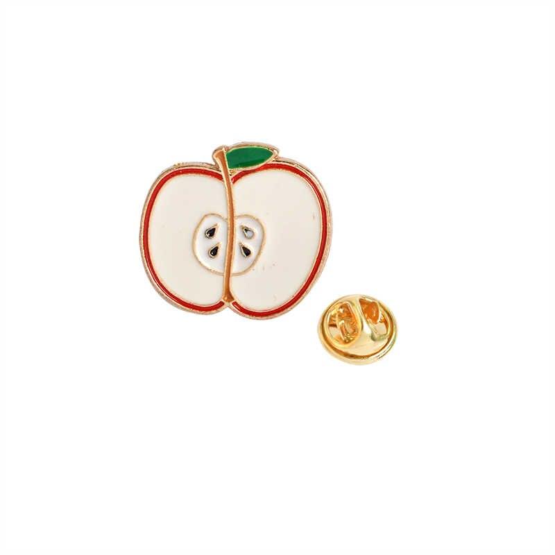 Semangka Kiwi Strawberry Orange Pisang Apple Pine Apple Kartun Buah Fashion Bros Hadiah untuk Wanita dan Anak-anak