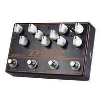 Mosky DTC Guitar Effect Pedal with Distortion Overdrive Loop Delay Mini Effect Pedal 4 in 1 Guitar Parts & Accessories