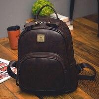 2017 fashion vintage pu leather backpacks for women bookbag cheap women backpack school college female girls.jpg 200x200