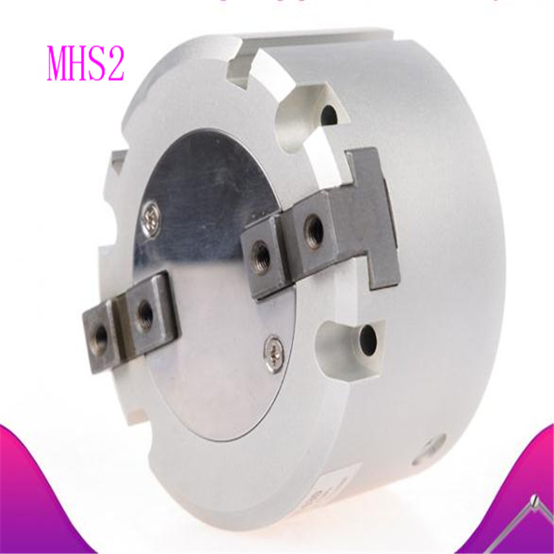 SMC type two-prong pneumatic finger cylinder gripper MHS2-16D 20 25 32 40 50 63D cylinder diameter cylinder