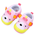 Spring Autumn Cotton Cute Bear Pattern Hard Sole Baby Girl and Boy Casual Shoes 0-15 Months