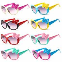 Gorąca sprzedaż 2019 nowych moda lato kreskówka słodkie kokarda z sercem kot okulary okulary okulary dla dzieci dziewczyny chłopcy dziecko