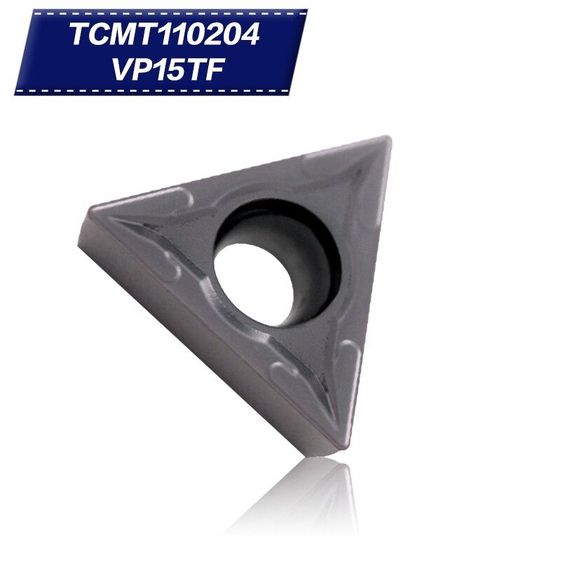 100 db TCMT110204 VP15TF belső esztergaszerszámok Keményfém - Szerszámgépek és tartozékok - Fénykép 1