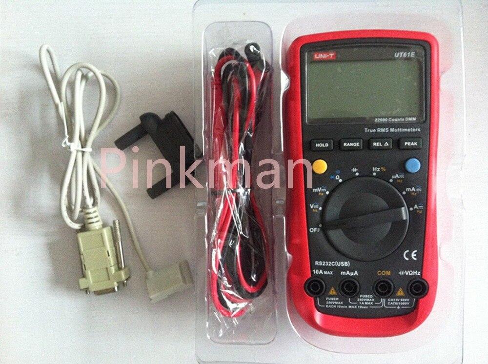 UNIT UT-61E UT61E Digital Handheld Multimeter Tester DMM AC DC Volt Ohm Frq unit ut 61e ut61e digital handheld multimeter tester dmm ac dc volt ohm frq