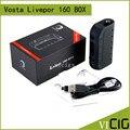 100% Оригинал Yosta Livepor 160 Вт Окно Мод 160 Вт Максимальная Мощность VW/TC Электронная Сигарета Livepor box vape мод с PTC рипсыоп
