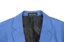 light blue blazer men's suit set spring autumn jacket high quality obese extra large 200 kg plus size  M 4XL 5XL 6XL 7XL 8XL