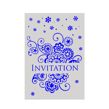 DIY Craft A4 Size Invatation Pattern Stencil Template For Wall Painting Scrapbooking Stamping Photo Album Decorative