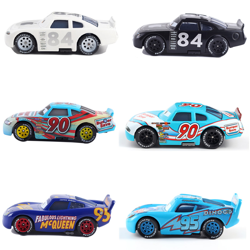 Cars Disney Pixar Cars 3 Toys Number Racer Racing Family 1:55 Diecast Metal Alloy Model Car Kid Gift Boy Brand New In Stcok