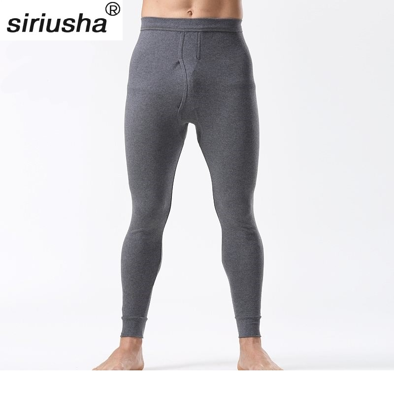 2018 Oversized Long Johns Warm Pants Male Single Pant Size 4XL-5XL Suits Everyone Cotton for Weight Maximum to 130 kg S116 ...