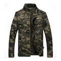 2017 New Arrival Spring Autumn Camouflage Jacket Men Militray Style Cotton Zipper Jacket Coats Cool Outerwear Camo Jackets 3XL