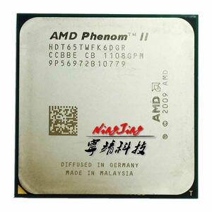Image 1 - AMD Phenom II X6 1065T 1065 2.9G 95W sześciordzeniowy procesor cpu HDT65TWFK6DGR gniazdo AM3