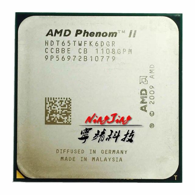 AMD Phenom II X6 1065T 1065 2.9G 95W sześciordzeniowy procesor cpu HDT65TWFK6DGR gniazdo AM3