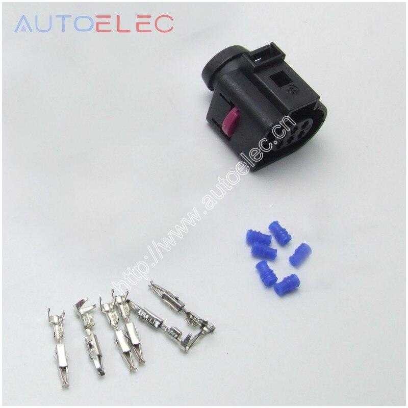 1kit 6PIN разъем 1J0973713 чехол соединителя 000979132E для VW AUDI Seat Skoda, мытье стеклоочистителя, насос, Пигтейл-подключение, разъем