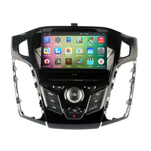 8″ Android 5.1.1 Quad Core Car Radio DVD GPS Navigation Central Multimedia for Ford Focus 2012 2013 2014 3G Bluetooth Handsfree