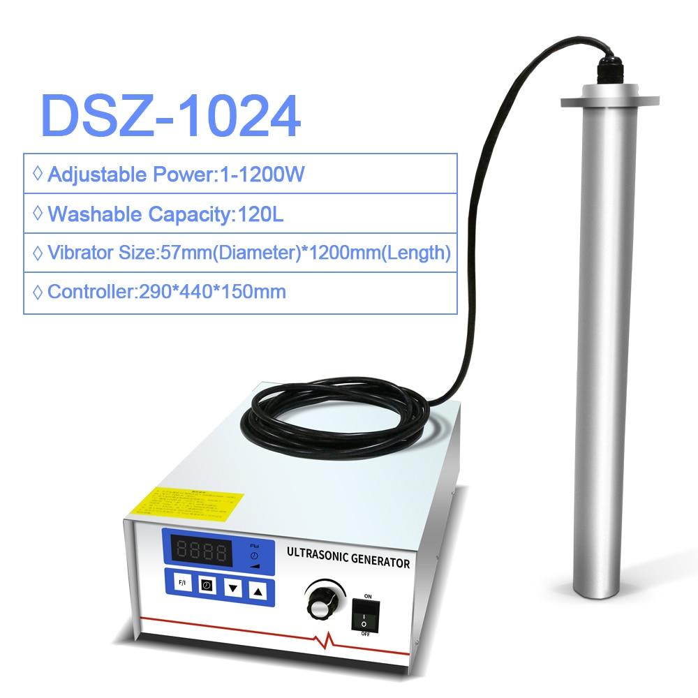 Máquina de limpieza ultrasónica Industrial inmersión Vibration Stick Acero inoxidable cadena circuito tablero inyector limpiador ultrasónico