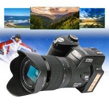 ПОЛО D7200 Цифровая Камера 33MP Автофокусом Профессиональная ЗЕРКАЛЬНАЯ ФОТОКАМЕРА HD видео Камера 24X + Телеобъектив Широкоугольный Объектив СВЕТОДИОДНЫЕ Заполнить свет