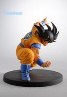 Dragon Ball Z Action Figure Son Goku SCultures Big 90mm Original Banpresto Goku DBZ Super Saiyan Model Toy SC703