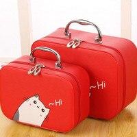 Travel Makeup Bag Makeup Bag And Bag Large Capacity Professional Portable Cute Cosmetic Toiletries Bag Small