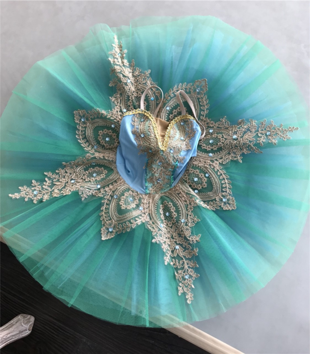 New Professional Ballet Tutus Child Platter Swan Lake Ballet Costumes Pancake tutu Ballerina Dress for Girls