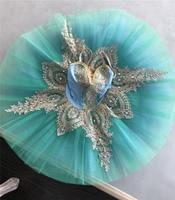 New Professional Ballet Tutus Child Platter Swan Lake Ballet Costumes Pancake tutu Ballerina Dress for Girls