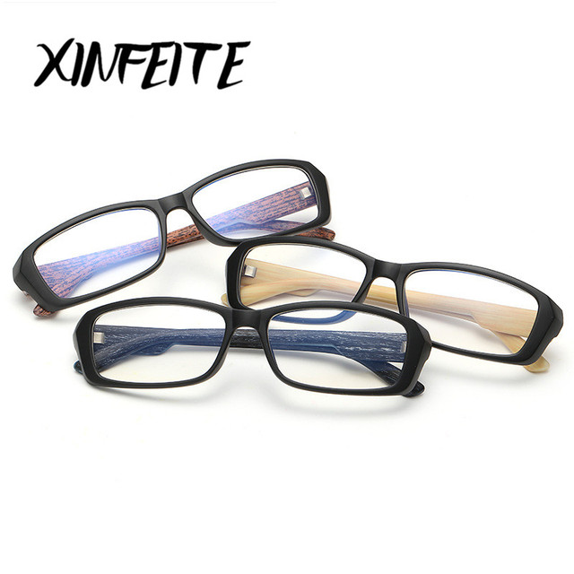 c4a4401677e XINFEITE 2018 Brand Optical Frame Computer Glasses Women Men Anti Radiation  HD Eyewear Retro Male Eyeglass Accessories Oculos