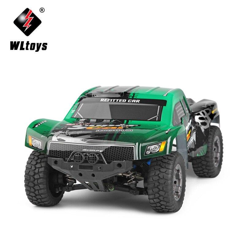 Оригинальный WLtoys 12403 RC автомобилей 1/12 Весы 2.4 г Электрический 4WD Дистанционное управление автомобиль 45 км/ч высокая скорость RC автомобилей Off...