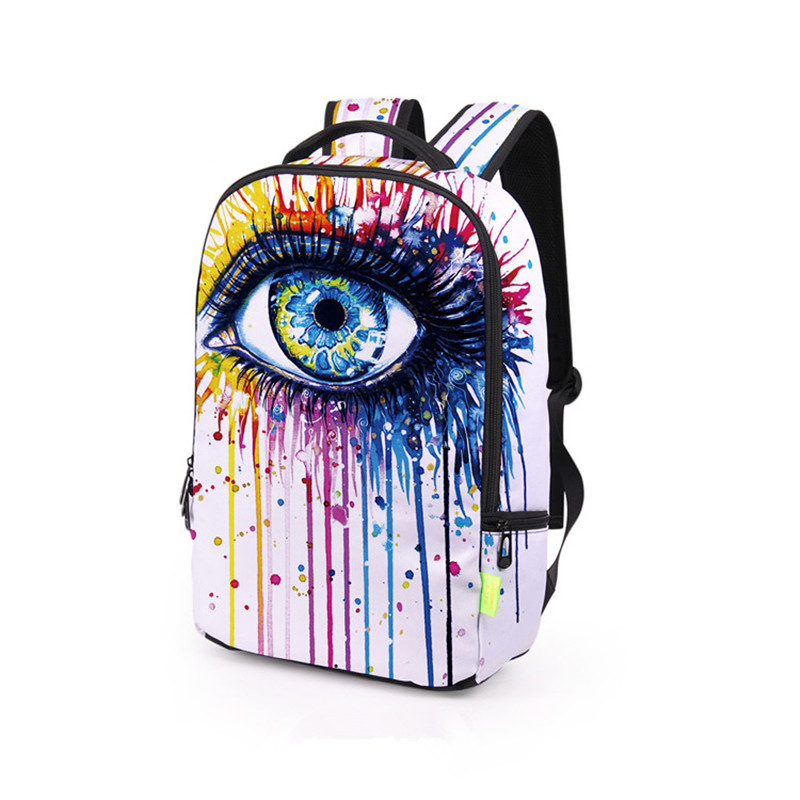 цены Graffiti Colorful mini Backpack Women SchoolBag Children School Bags for girls School Backpacks Travel mochila sac a dos femme