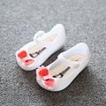 13-15.5cm Summer Mini Melissa Shoes Bow Princess Jelly kids Sandals Children Beach Shoes Cute Bowknot Girl Sandals Sapato Menina