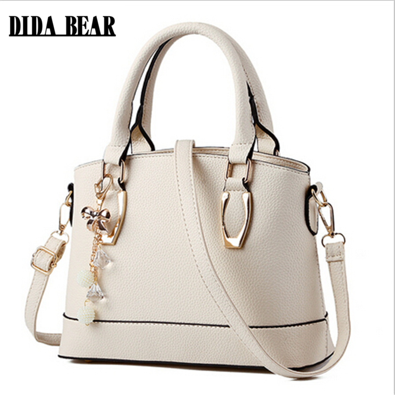 DIDA BEAR Bolsas Femininas Women's Handbag Women Shoulder Bag PU Leather Casual
