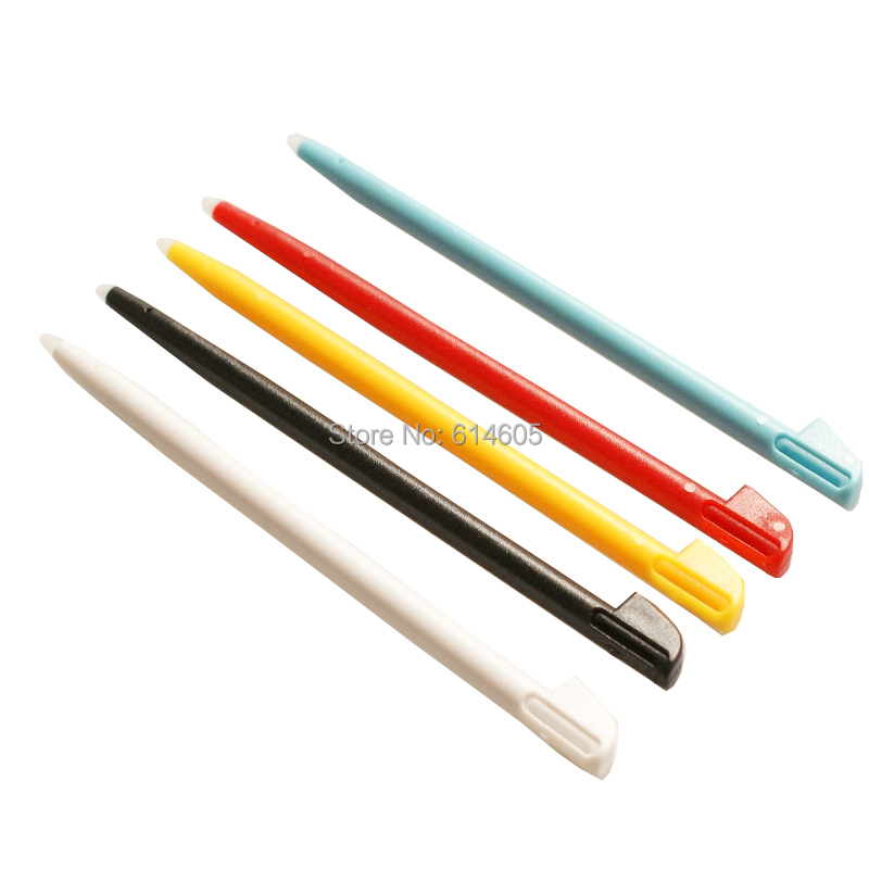 5 Pieces Plastic Color Touch Stylus Pen for Nintendo Wii U Gamepad