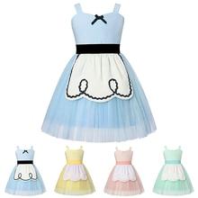 Baby Girl Alice Dress Toddler Cartoon Alice in