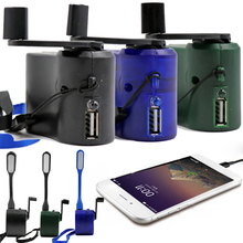 EDC USB Phone Emergency Charger For Camping Hiking Outdoor Sports
