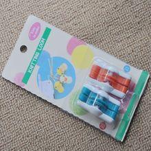 2pcs/set Mini Pom Maker Fluff Ball Weaver Needle Knitting Wool Tool Yarn Kit for 20mm and 25mm Pompoms