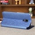 Meizu mx5 capa silicone case mofi genuine meizu m575u metálica interna smart case preto ouro rosa luxo matte case para mx5 original