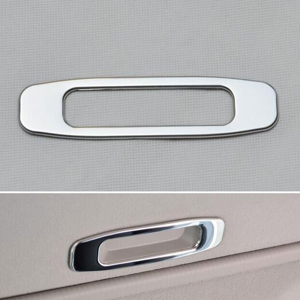 1pc stainless steel car interior inner upper dome sun roof handle cover trim decoration fit for. Black Bedroom Furniture Sets. Home Design Ideas