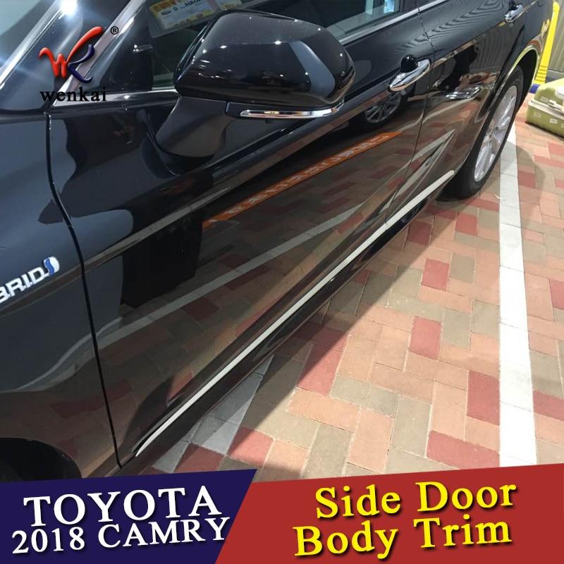 Mercedes R107 Convertible Soft Top Seal SET 4pcs Above Door L+R Strip Rubber