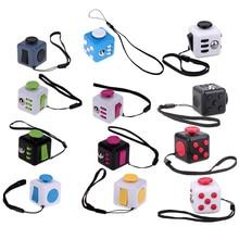 Мини squeeze Fun Кубик-антистресс игрушка Игральная кость беспокойство внимание анти-стресс головоломка магический помощи взрослых, смешные Непоседа Игрушечные лошадки Цвет случайный
