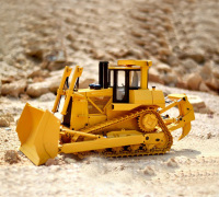 1/14 Scale RC Hydraulic Bulldozer